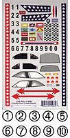 Pine-Pro Super Stock Decal Pinewood Derby Decal and Finishing #10082