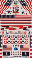 Pine-Pro USA Decal -- Pinewood Derby Decal and Finishing -- #10087