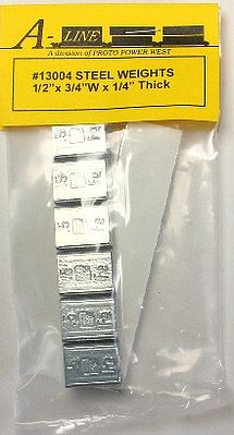 Proto Power West 1/2''x3/4''x1/4'' Stick-On Lead Weights