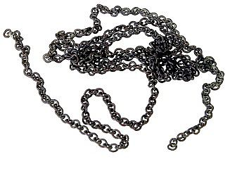 Proto Power West Black Chain 27 links per inch (12'')