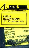 Proto-Power Black Chain 15 links per inch (12)