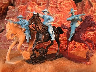 Paragon 1/32 Cavalry Figure Set #3 Mounted (6) (Bagged)