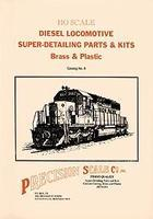 Precision-Scale HO Diesel Detail Prts Cat - HO-Scale