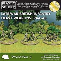 Plastic-Soldier Late WWII British Infantry (4) Plastic Model Military Figure 15mm #1536