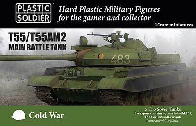 15mm Modern Soviet T55/A/ AM2 Tank (5)