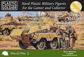 Plastic-Soldier 15mm WWII German SdKfz 231 Armoured Car (5)