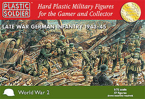 Plastic-Soldier Late WWII German Infantry 1943-45 (57) Plastic Model Military Figure 1/72 Scale #7202