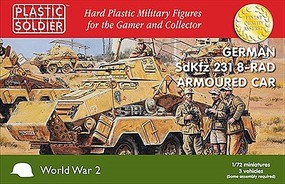 Plastic-Soldier 1/72 WWII German SdKfz 231 Armoured Car (3)