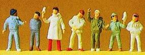 Preiser Pedestrians - Children in Winter Clothes Model Railroad Figures HO Scale #14007