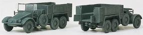 Preiser Light Trucks Kfz. 70 3-Axle Personnel Carrier Kit HO Scale Model #16552