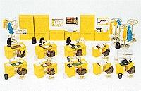 Preiser Office Equipment Model Railroad Building Accessory HO Scale #17184