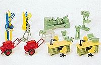Preiser Workshop Equipment Model Railroad Building Accessory HO Scale #17185