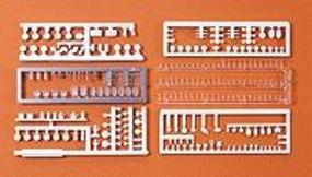 Preiser Tableware/Food for Tables Model Railroad Building Accessory HO Scale #17220