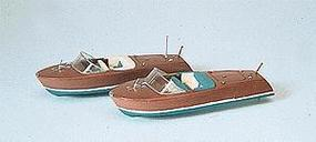 Preiser Speed Boat (2 Pack) HO Scale Model Railroad Vehicle #17304