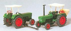 Preiser Farm Machinery Deutz Tractor HO Scale Model Railroad Vehicle #17920