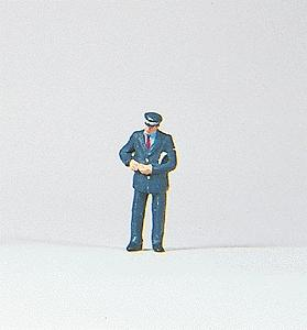 Preiser Conductor Checking Ticket Model Railroad Figure HO Scale #28034