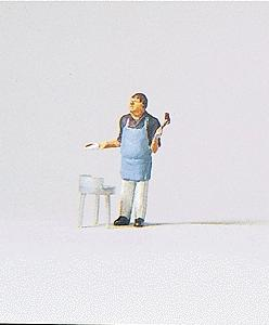 Preiser Hobby Cook Model Railroad Figure HO Scale #28055