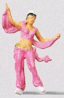 Preiser Belly Dancer Model Railroad Figure HO Scale #29002