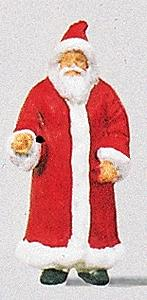 Preiser Santa Claus in Long Coat Model Railroad Figure HO Scale #29029