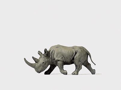 h0 Preiser 29501 Indien chars rhinocéros