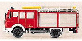 Preiser Mercedes F-16-2 Compartment Pumper HO Scale Model Railroad Vehicle #31128