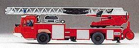 Preiser Magirus DLK23 Ladder Truck HO Scale Model Railroad Vehicle #31134