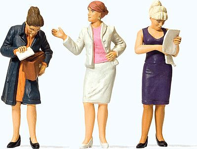 Preiser Standing Women Model Railroad Figures G Scale #44907