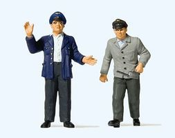 Preiser Engine Driver & Fireman #2 Model Railroad Figures G Scale #44918