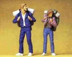 Preiser Young Travelers Model Railroad Figures G Scale #45029