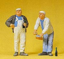 Preiser Bricklayers Model Railroad Figures G Scale #45038