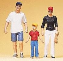 Preiser Young Family Model Railroad Figures G Scale #45106