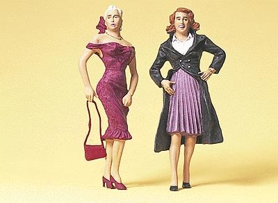 Preiser Female Passers-By Model Railroad Figures G Scale #45110