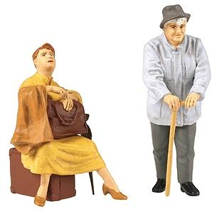 Preiser Travelling Women Model Railroad Figures G Scale #45130