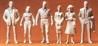Preiser Passers-By Model Railroad Figures G Scale #45178