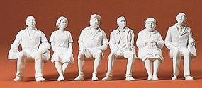 Preiser Seated Persons Model Railroad Figures G Scale #45183