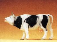 Preiser Kg Cow Mooing with Mouth Open -- Model Railroad Figure -- 1/25 Scale -- #47002