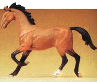 Preiser Trotting Horse Model Railroad Figure 1/25 Scale #47022