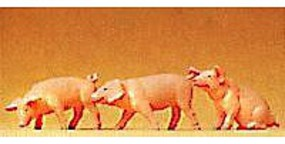 Preiser Assorted Piglets Model Railroad Figures 1/25 Scale #47048