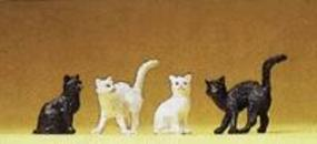 Preiser Assorted Cats Model Railroad Figures 1/25 Scale #47063