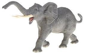 Preiser African Elephant Trumpeting & Walking Model Railroad Figure 1/25 Scale #47500