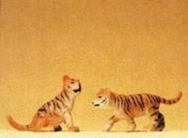 Preiser Tiger Cubs Model Railroad Figures 1/25 Scale #47513
