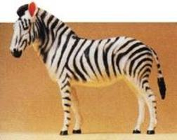 Preiser Zebra Standing Model Railroad Figure 1/25 Scale #47529
