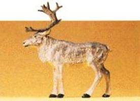 Preiser Standing Reindeer Model Railroad Figure 1/25 Scale #47538