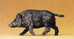 Preiser Wild Boar Walking with Raised Head & Tail Model Railroad Figure 1/25 Scale #47712