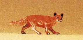 Preiser Hunting Fox with Head Turned Model Railroad Figure 1/25 Scale #47714