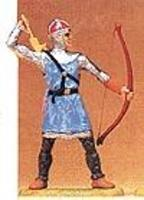 Preiser Norman Archer Taking Arrow Out Of Quiver Model Railroad Figure 1/25 Scale #50900