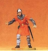 Preiser Norman Soldier Tending The Catapult Model Railroad Figure 1/25 Scale #50930