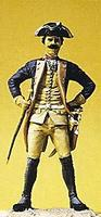 Preiser Prussian Army Noncommissioned Officer of Musketeers Model Railroad Figure 1/24 Scale #54116