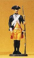 Preiser Prussian Army Musketeer with Musket Model Railroad Figure 1/24 Scale #54118