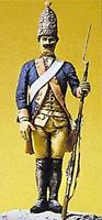 Preiser Prussian Army Grenadier with Musket Model Railroad Figure 1/24 Scale #54121